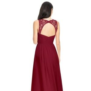 d57e7104ff5 Azazie Dresses - Azazie Danny Burgundy Red Formal Bridesmaid Dress
